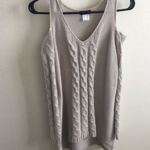 Open-shoulder Sweater